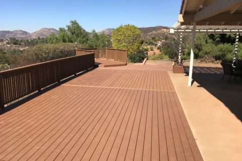Deck Before and After Pictures